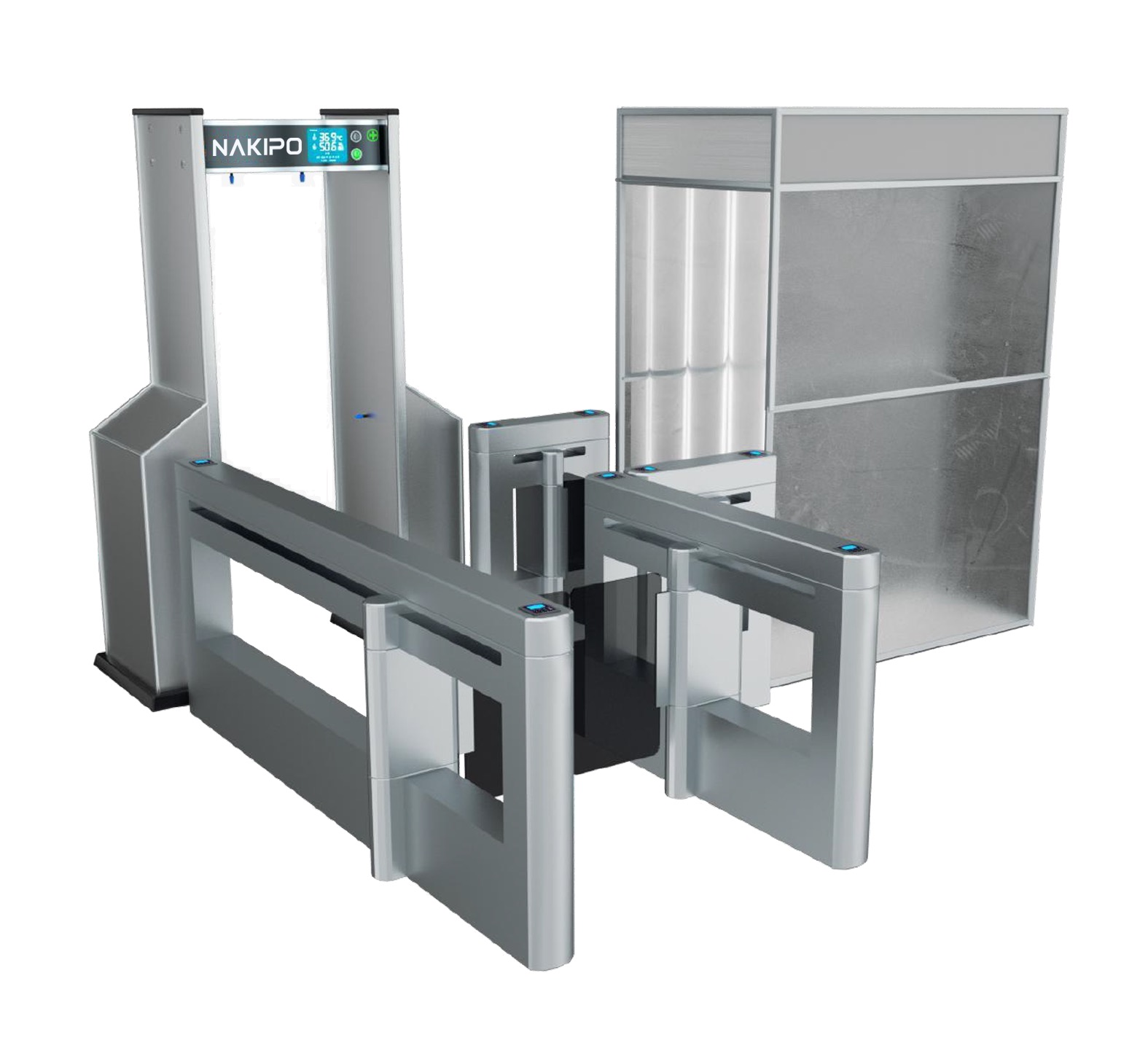 CONDOR | מערכת בקרה למדידת חום, חיטוי והכוונה