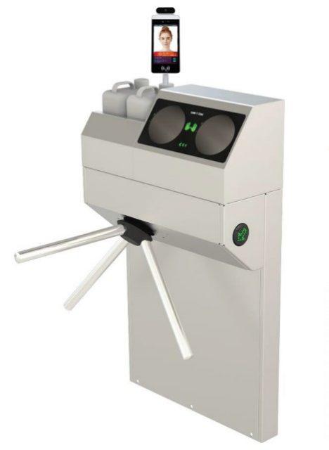 Avir800 | בקרת כניסה, מדידת חום, חבישת מסיכה וחיטוי ידיים 1
